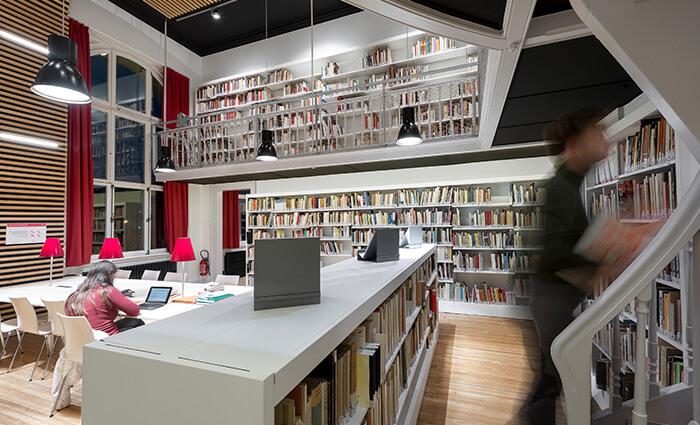IDM Education - Bibliothèque universitaire Strasbourg, rez de chaussée