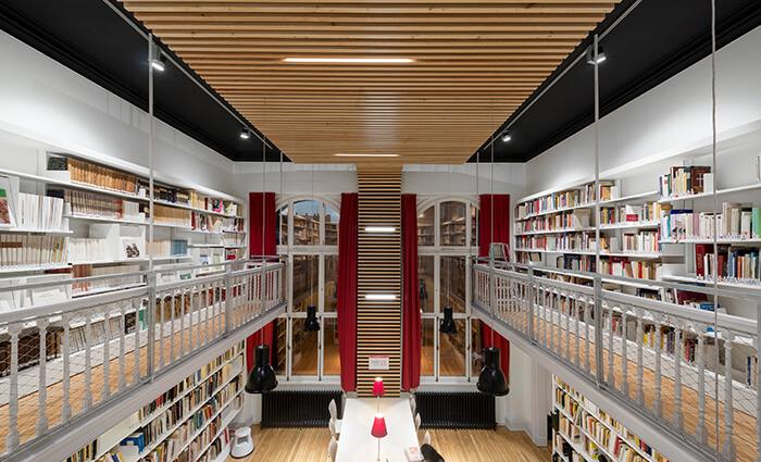 IDM Education - Bibliothèque universitaire Strasbourg, vue ensemble