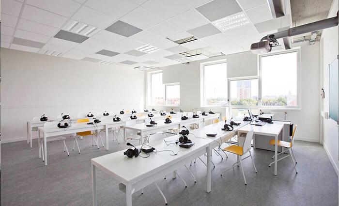 IDM Education - Salles de cours - Bureaux audio