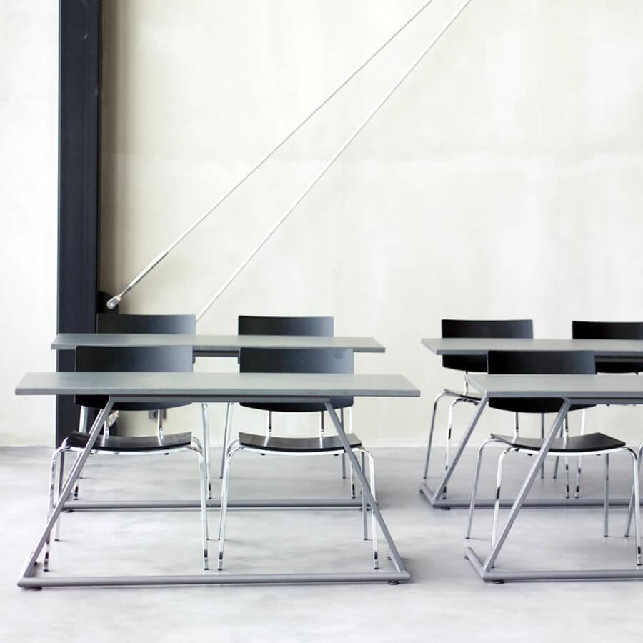 IDM Education - Salles de cours - Bureaux doubles