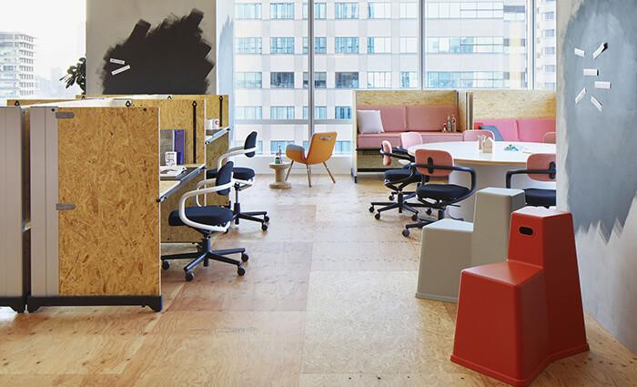 IDM Education - Espaces de travail collaboratif - Bureaux et chaises