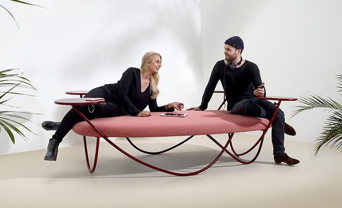 IDM Education - Espaces circulation - grande assise canapé