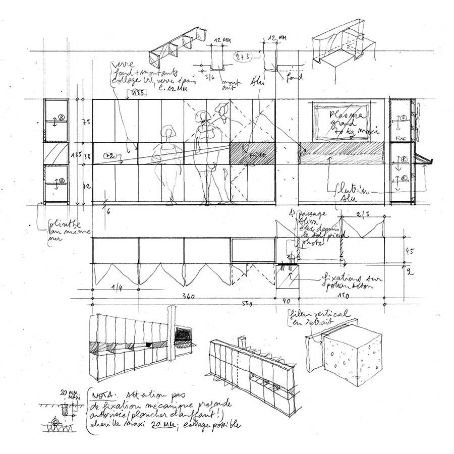 IDM Education - Métier plan schéma meuble cotes dimensions