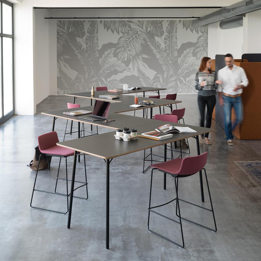 Table hot desk wiesner hager